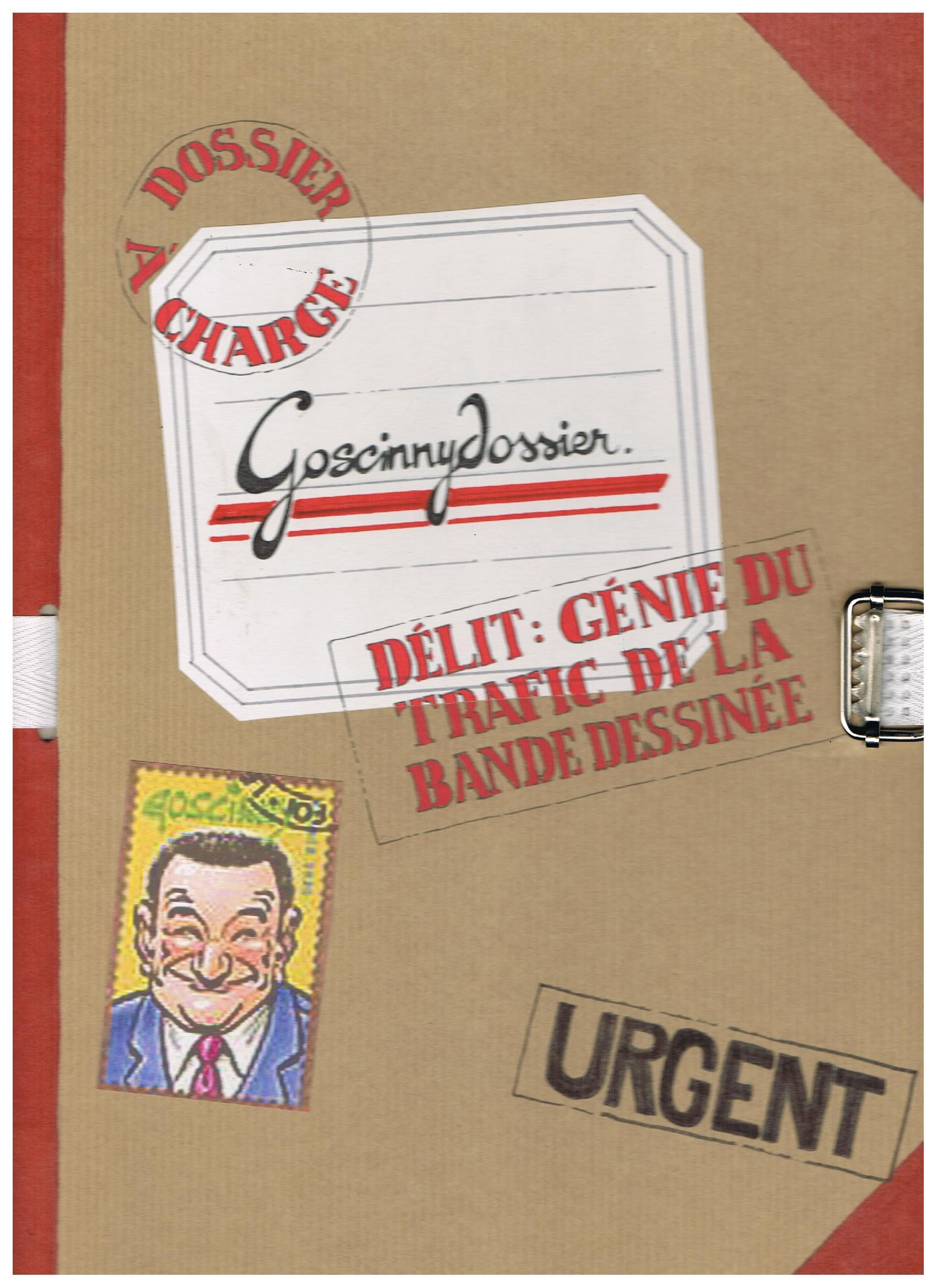 Dossier René Goscinny. Page de garde. 20/20.